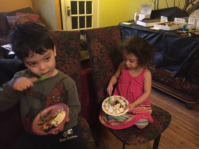 Cake time.