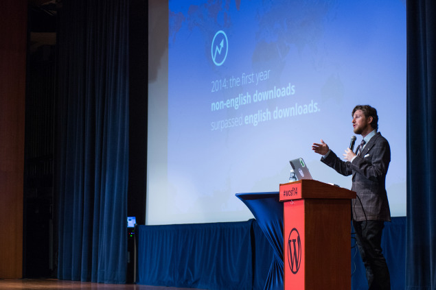 State of the Word at WordCamp SF 2014